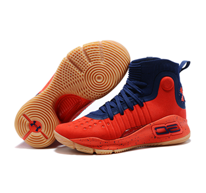 Curry 4 New Blue Red
