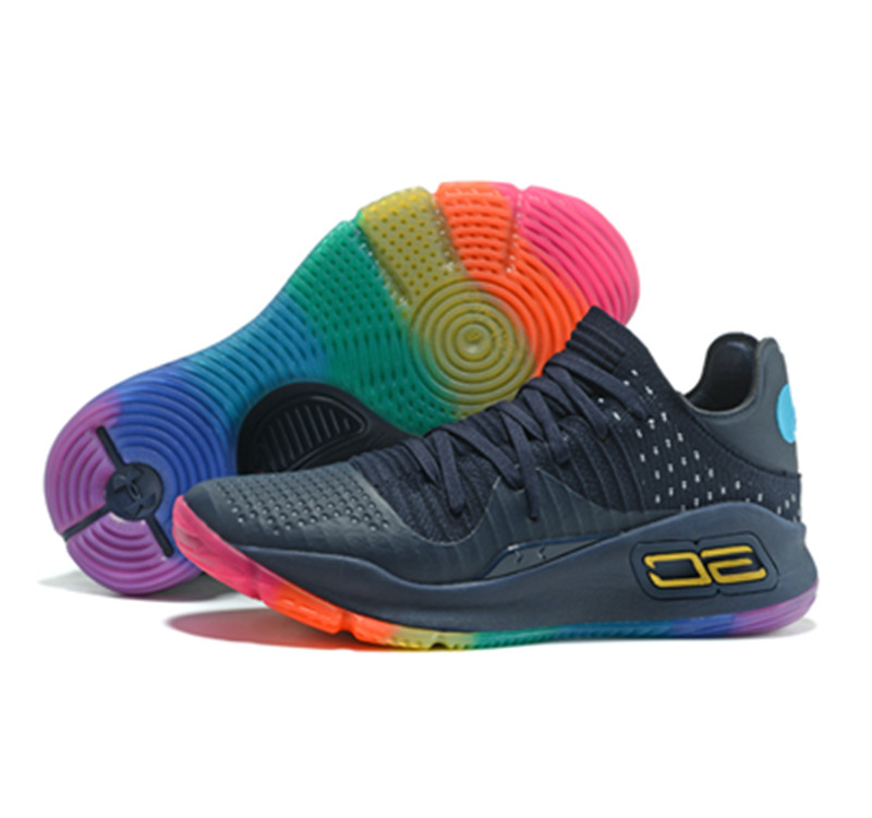 Stephen Curry 4 Shoes Low Rainbow