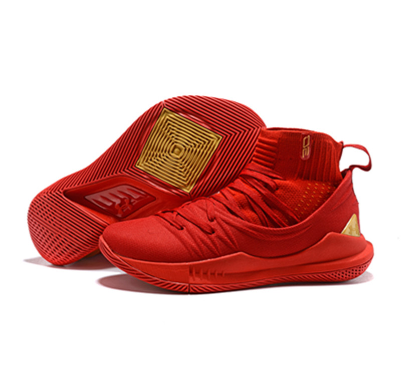 Curry 5 Shoes All Red