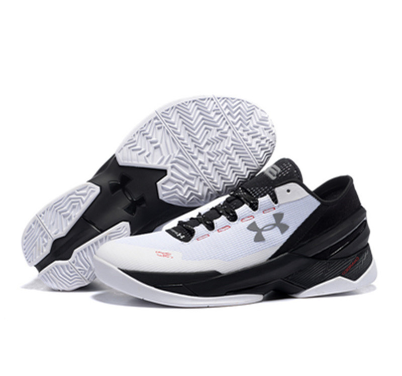Under Armour Stephen Curry 2 Shoes Low Black White