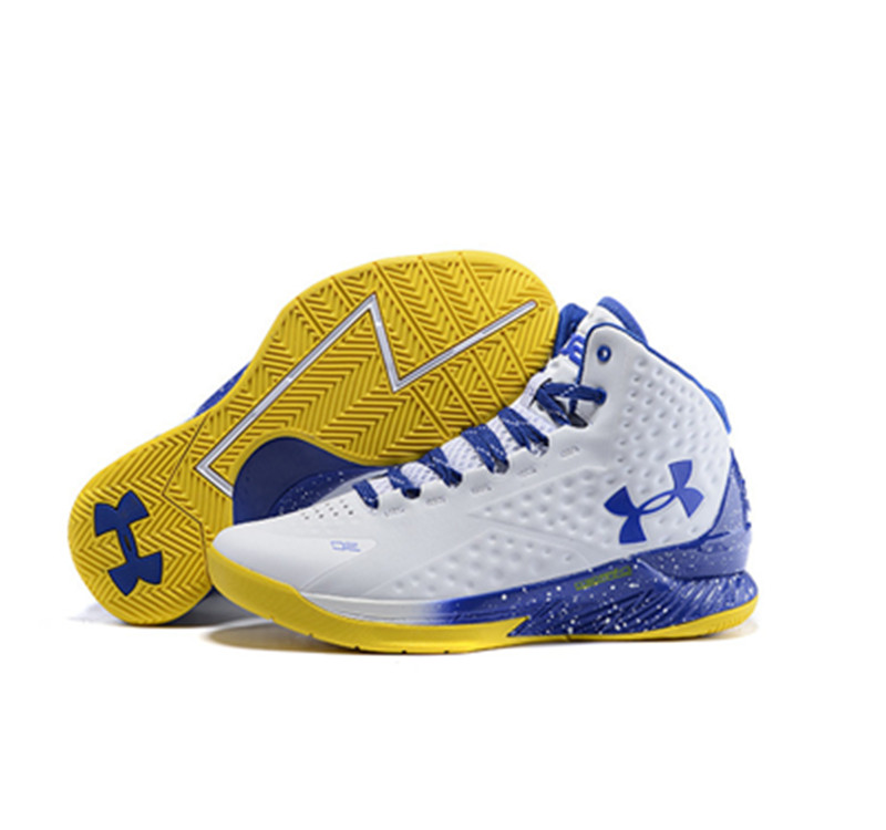 Under Armour Stephen Curry 1 Shoes mvp white blue