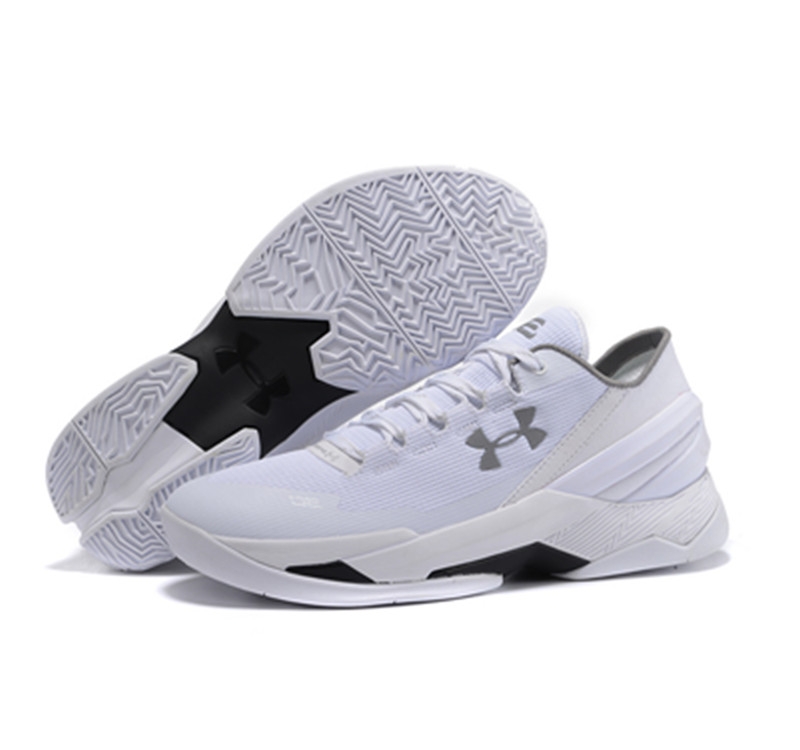 Under Armour Stephen Curry 2 Shoes low white black