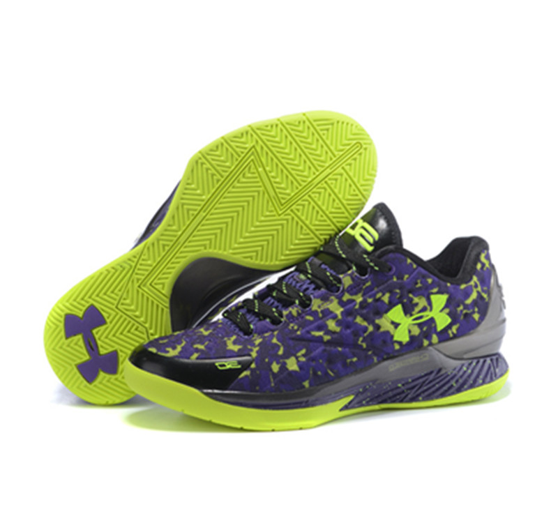 Under Armour Stephen Curry 1 Shoes Fluorescence Green