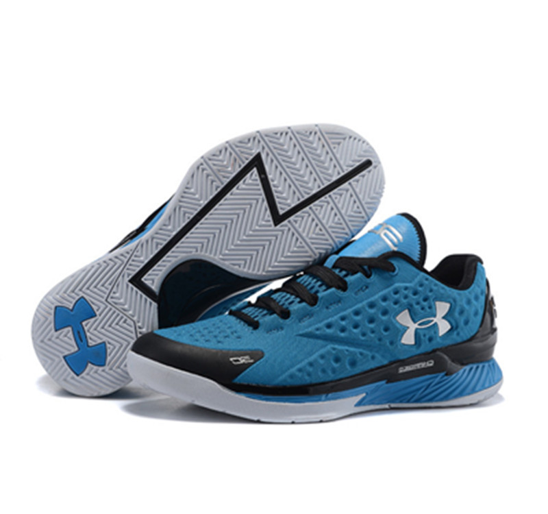 Under Armour ClutchFit Drive Low Stephen Curry Shoes Red Black Blue