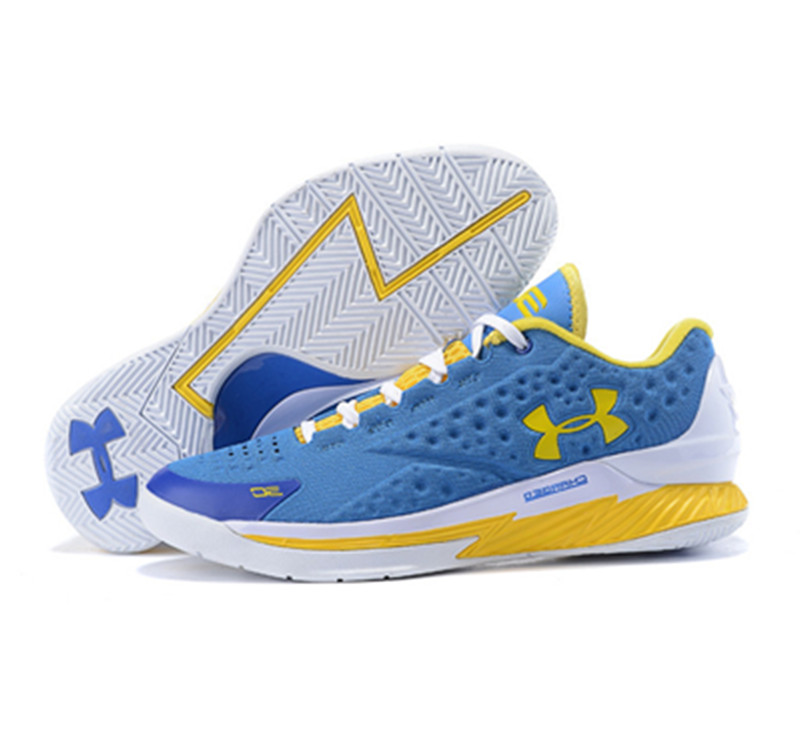 Under Armour ClutchFit Drive Low Stephen Curry Shoes Blue