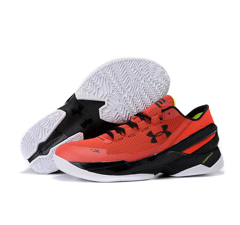 Under Armour Stephen Curry 2 Shoes red black
