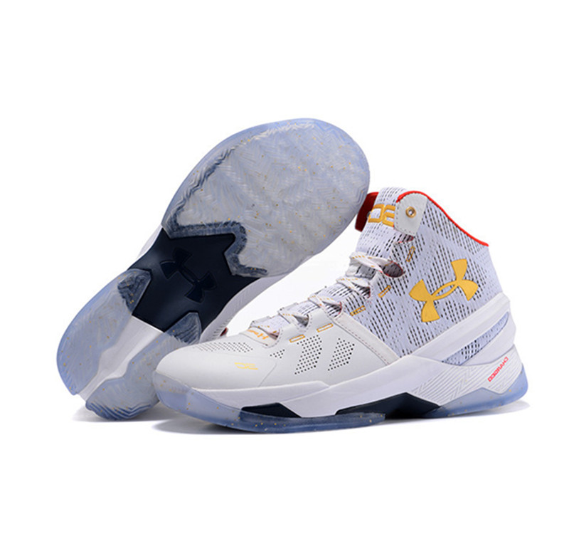 Under Armour Stephen Curry 2 Shoes white