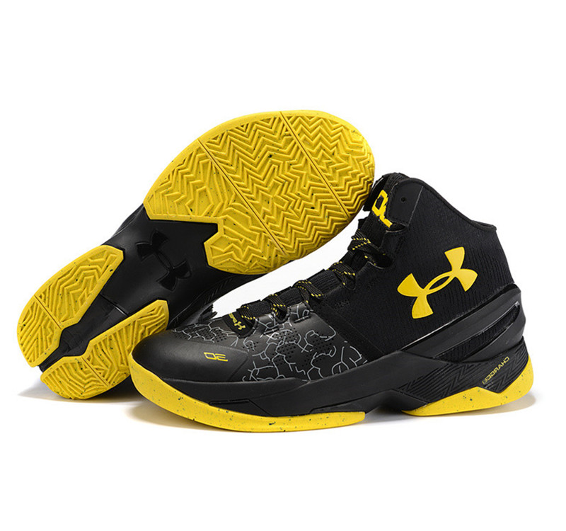 Under Armour Stephen Curry 2 Shoes yellow black