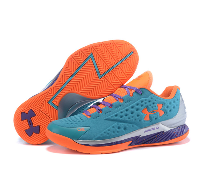 Under Armour ClutchFit Drive Low Stephen Curry Shoes Blue Elite