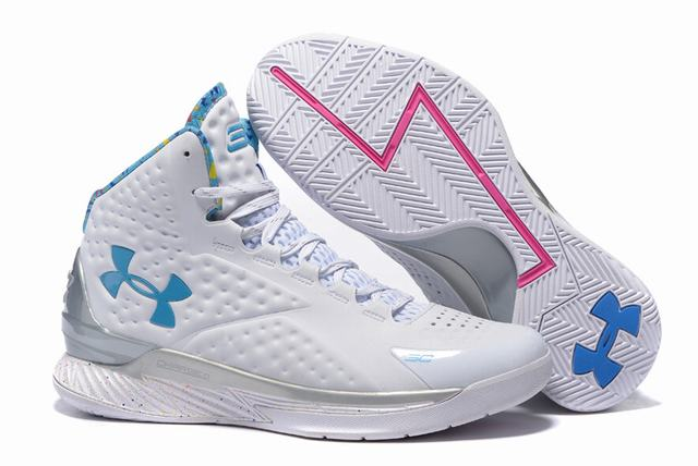 Curry 1 Shoes Birthday White