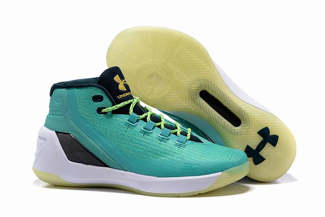 Curry 3 Shoes Mint Green