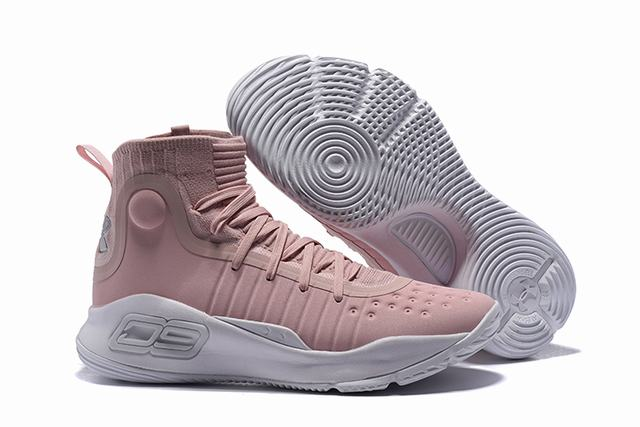 Curry 4 Shoes High Cherry Pink