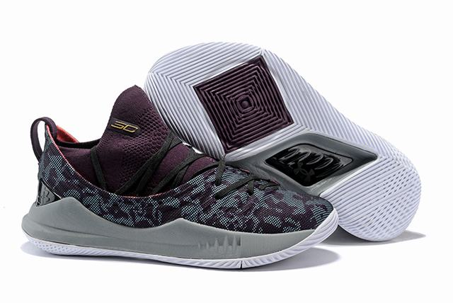 Curry 5 Shoes Purple Red