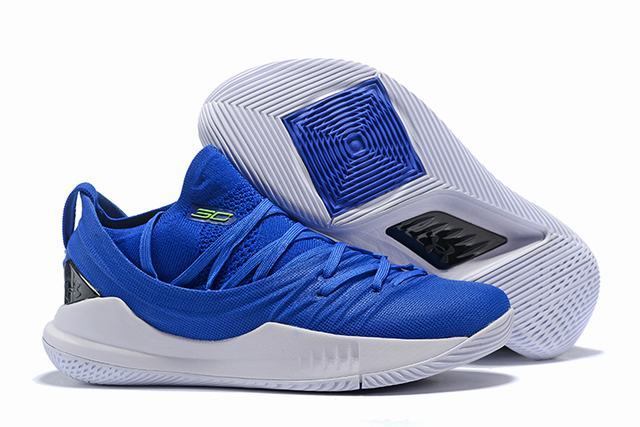 Curry 5 Shoes Royal Blue