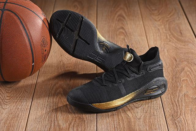 Curry 6 Shoes Low Black Gold