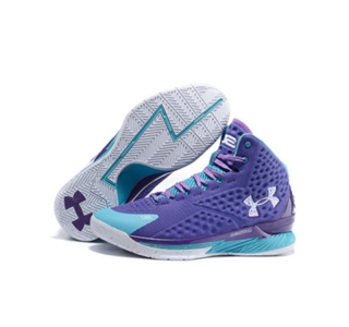 Under Armour Stephen Curry 1 Shoes mvp purple