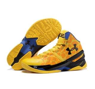 Under Armour Stephen Curry 2 Shoes Giraffe Yellow