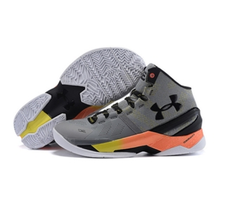 Under Armour Stephen Curry 2 Shoes Gray Red