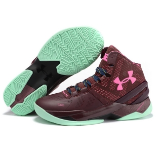 Under Armour Stephen Curry 2 Shoes green