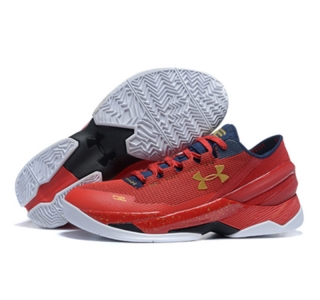 Under Armour Stephen Curry 2 Shoes Low Red
