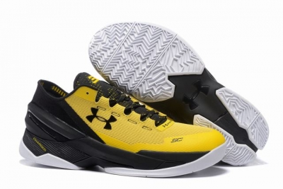 Curry 2 Shoes Low Black Yellow