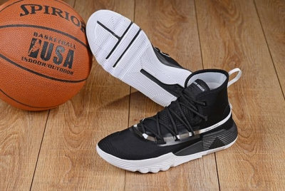 Curry 3 Shoes Black White