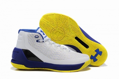 Curry 3 Shoes White Blue