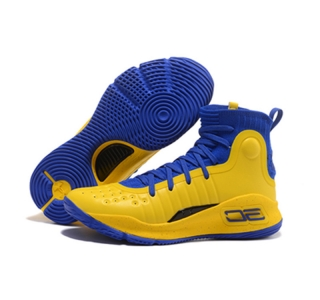 Stephen Curry 4 Shoes Yellow