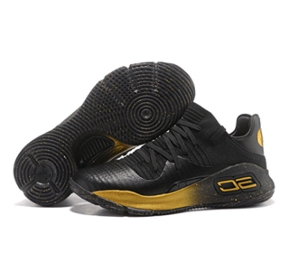 Stephen Curry 4 Low black gold