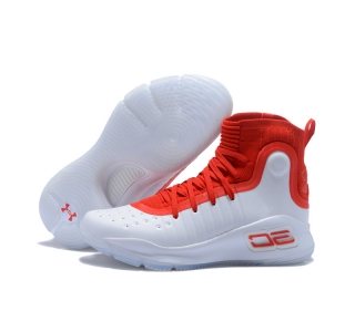 Curry 4 New White Red