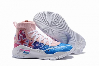 Curry 4 Shoes Ocean Pink White