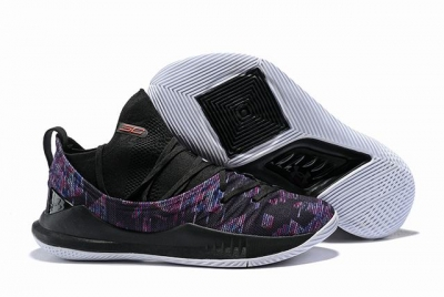 Curry 5 Shoes Black Purple