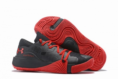 Curry 5 Shoes Black Red