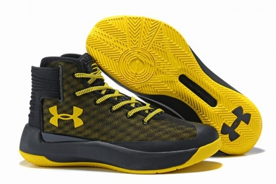 Curry 3.5 Shoes Black Yellow