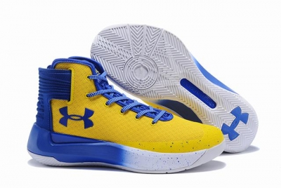 Curry 3.5 Shoes Yellow Royal Blue